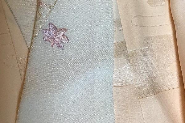 長襦袢 母乳の染み抜きアフター画像