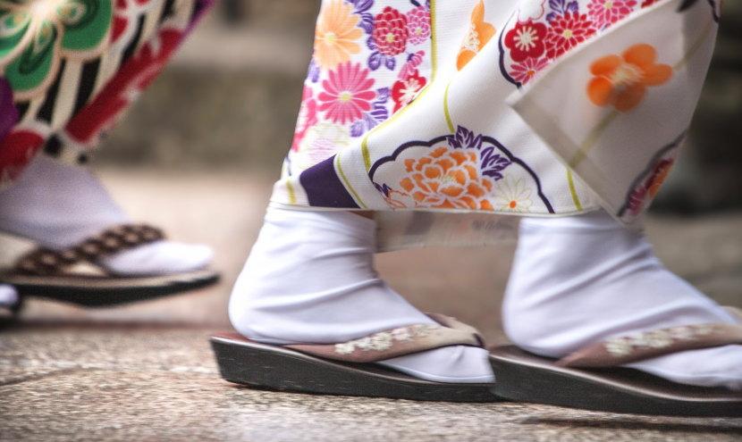 足袋の汚れ